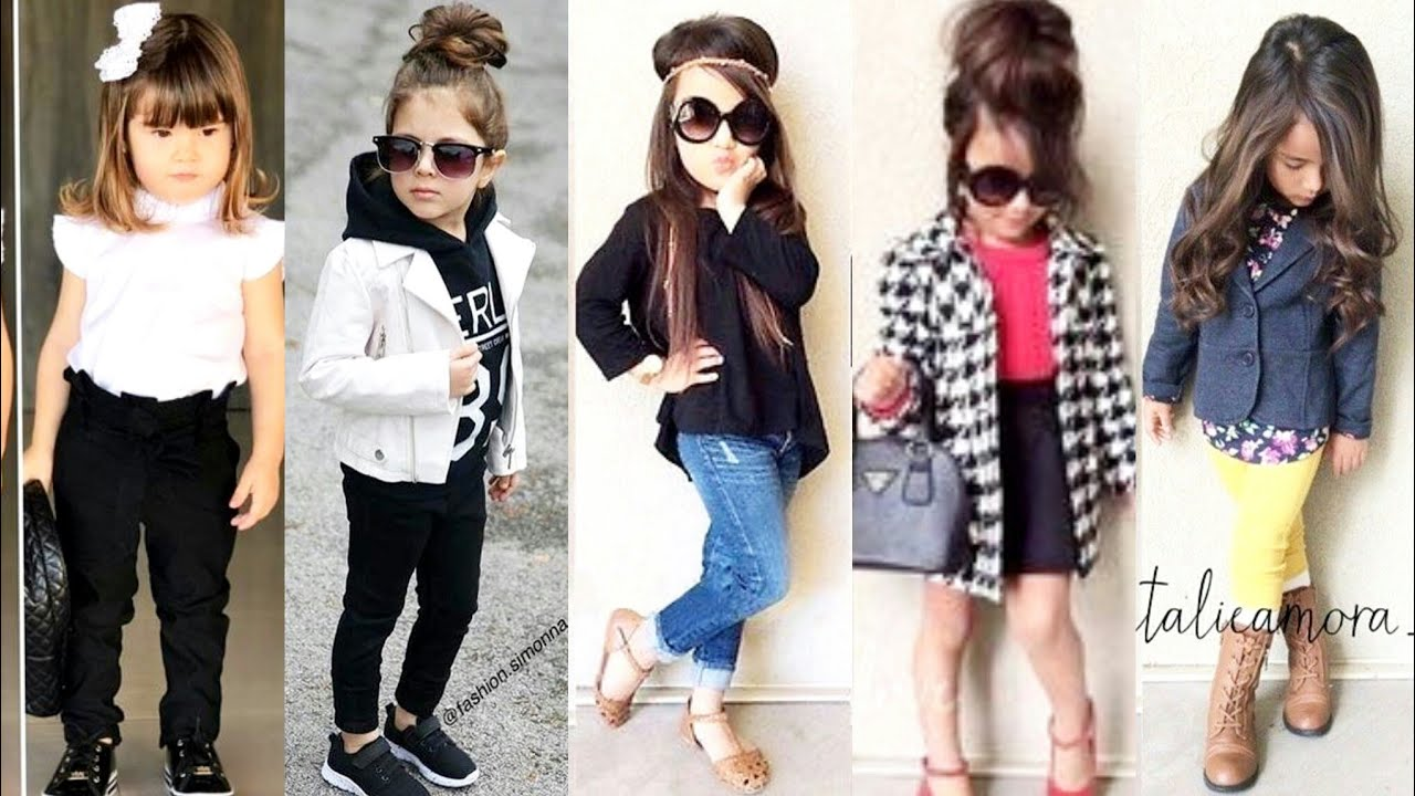 Latest Kids Stylish Dresses Ideas For Winter//Dressup Your little Girls  With Modern Style Video