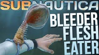Subnautica - Bleeder Blood Suckers & Bone Shark! - Let
