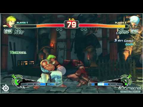 Eye tracking a Street Fighter pro