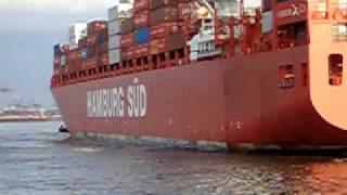 Containership Hamburg Süd Sued  Monte Olivia