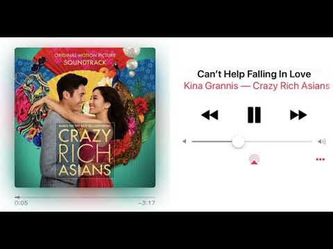 Crazy Rich Asians Soundtrack - Can't Help Falling In Love (Guitar Intro 1 Hour Loop ) - Kina Grannis