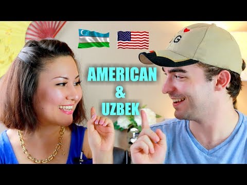 AMERICAN TRIES TO SPEAK UZBEK | ENGLISH VS UZBEK CHALLENGE | Zulayla Vlogs