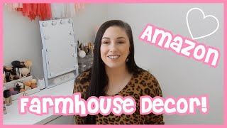 Amazon Farmhouse Decor! Cheap Farmhouse Decor!