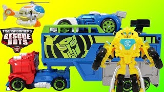 Transformers Rescue Bots Mashup w/ Bonus Robots in Disguise Starscream & Decepticons v Batbot Xtreme