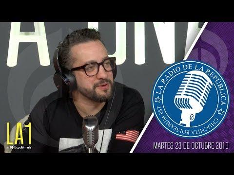 #LA1 - Caravana errante - La Radio de la República - @ChumelTorrres