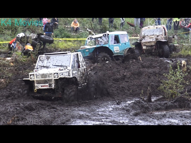 Off-Road vehicles vs Forest field