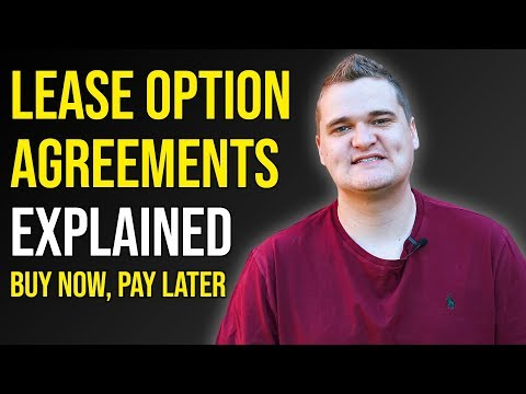 Lease Option Agreements | What Is A Lease Option?