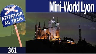 Mini World Lyon, la construction de Mini-Lyon en décembre 2017