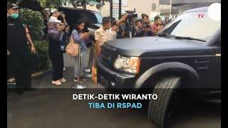 Detik-Detik Wiranto Tiba di RSPAD, Mendagri Tjahjo Kumolo Ikut Temani