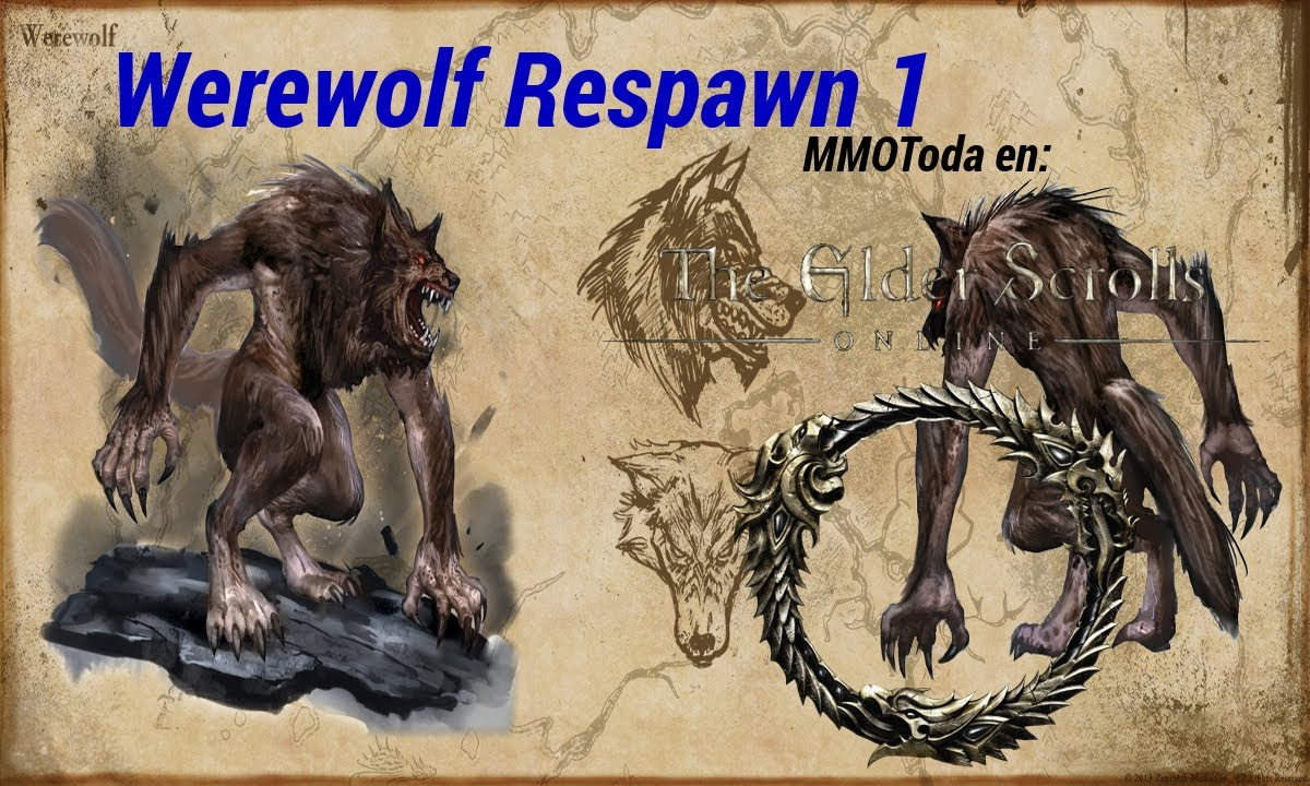 how to become a werewolf elder scrolls online