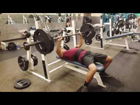 Bench Press Progress 225 lbs 4 Reps