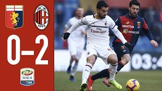 Download Highlights Genoa 0-2 AC Milan - Matchday 20 Serie A TIM 2018/19 Mp3 and Videos
