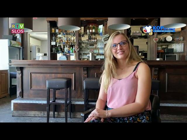 Gabi Fleming in de uitzending van Kop d'r Veur op 24 juni 2020