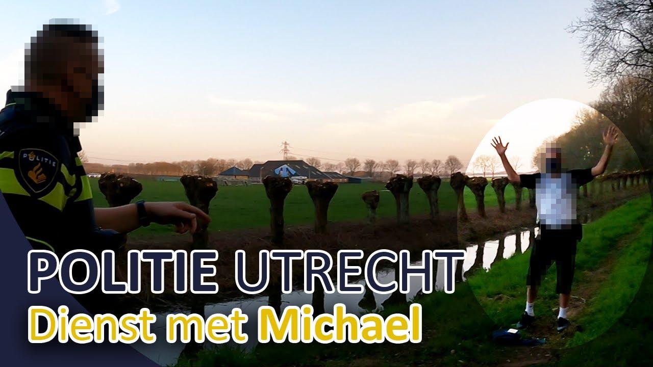 Politie Utrecht - Persoon met een mes, melding woningbrand, diefstal met geweld - Michael