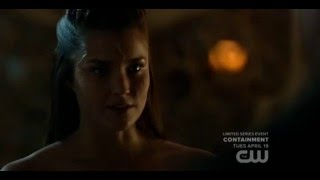 The 100 - Murphy and Ontari - Supposed Sex Scene (S3E10)