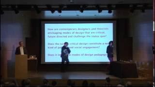 Critical Design/Critical Futures 2015: Critical Design + Critical Futures