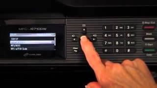 Як налаштувати бездротову за брата™ для MFC-J6710DW принтера