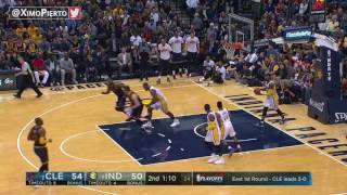 Indiana Pacers vs Cleveland Cavaliers - Full Game Highlights | Game 4 | Apr 23, 2017 | NBA Playoffs