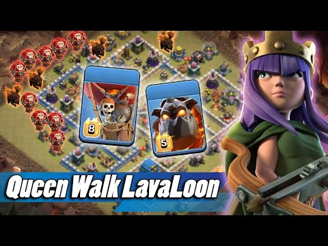 Queen Walk With LavaLoonion 3star TH12 Attack Strategy 2019 | Clash Of Clans