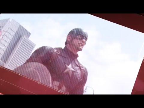 Attack In Lagos - Captain America Civil War | news report (2016)