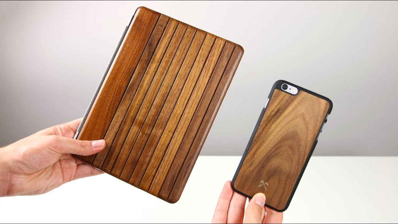 iphone ipad h llen aus echtholz woodcessories ecocover ecocase review swagtab youtube. Black Bedroom Furniture Sets. Home Design Ideas