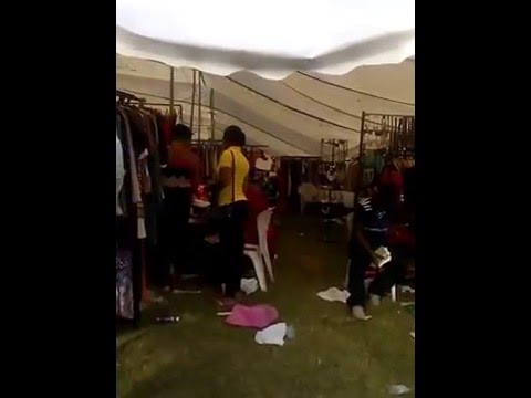 Lovely pop-up clothes and jewellery market at Abuja City