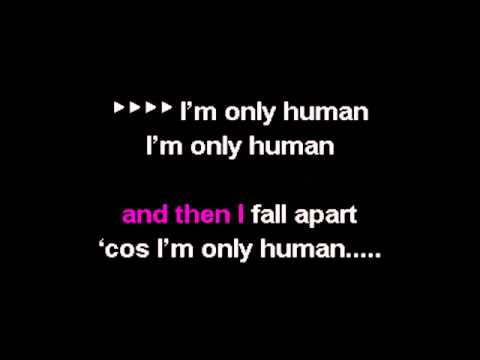 karaoke instrumental Christina Perri   Human   YouTube