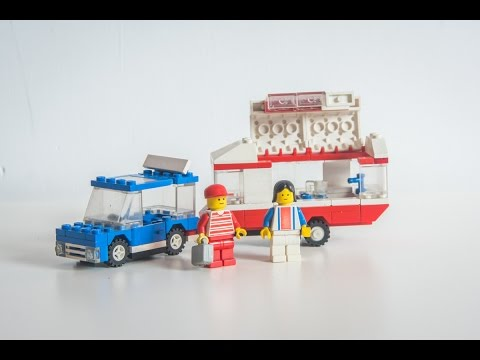 KKL #12 : Wspominamy LEGO CITY6590 Przyczepa Kempingowa