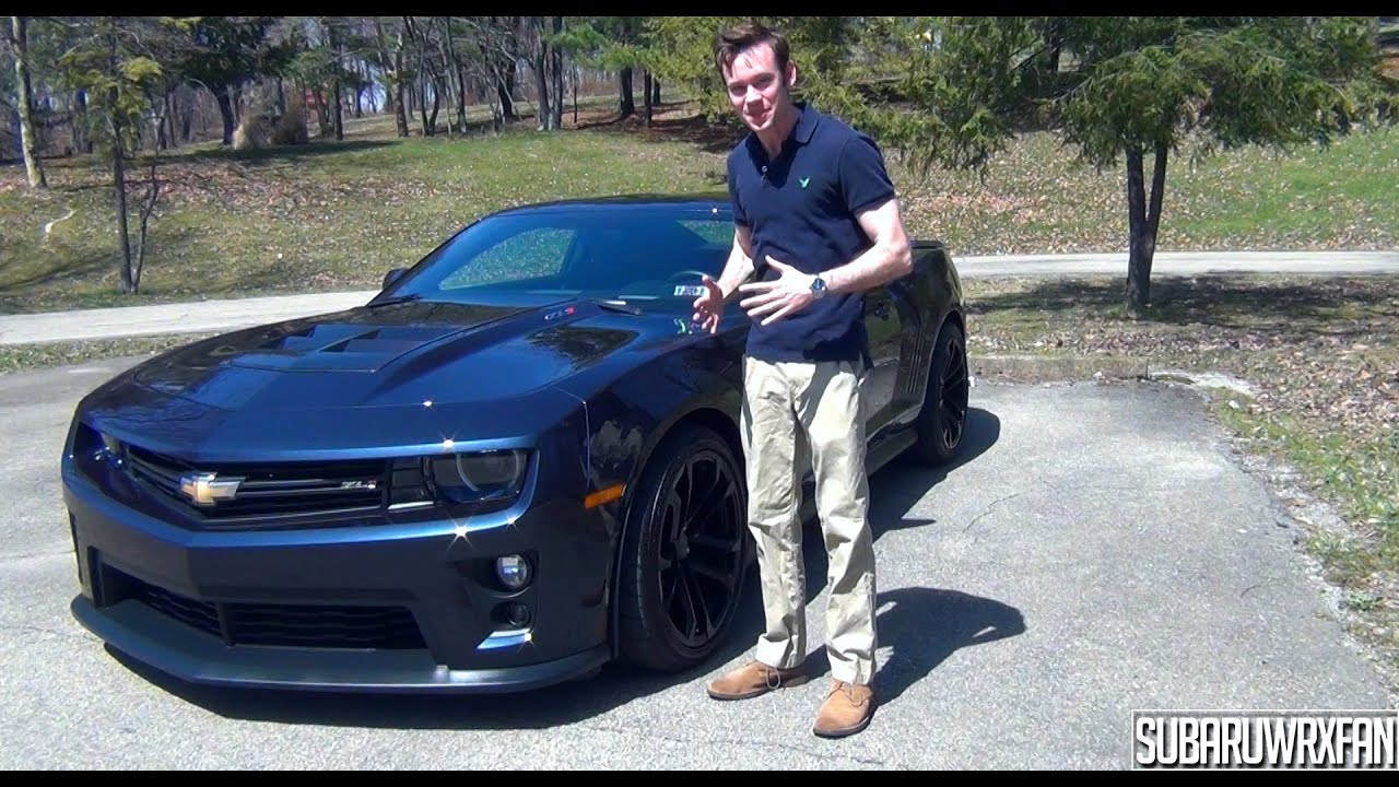 2010 Camaro Rs >> Review: 2013 Chevrolet Camaro ZL1 - YouTube