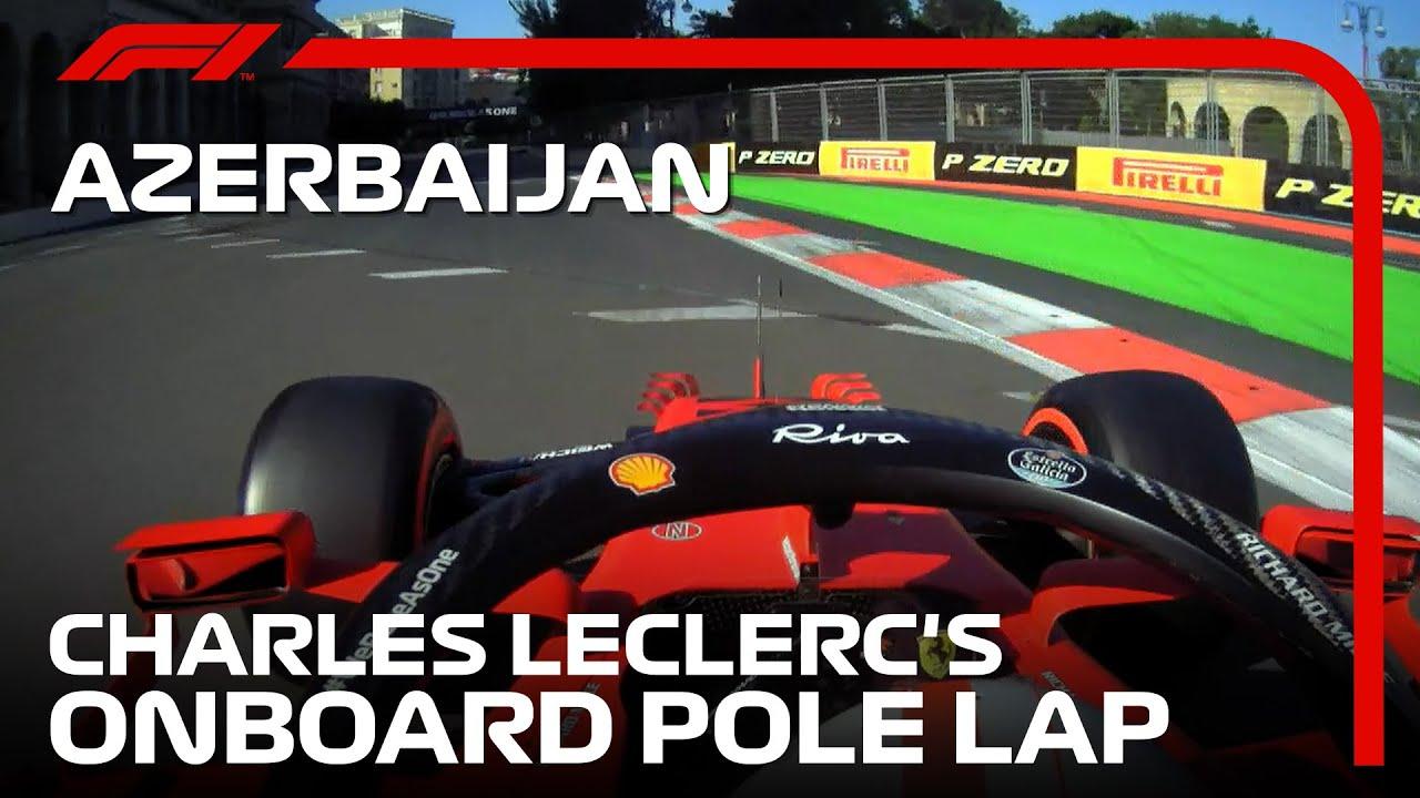 Download Charles Leclerc's Pole Lap   2021 Azerbaijan Grand Prix   Pirelli