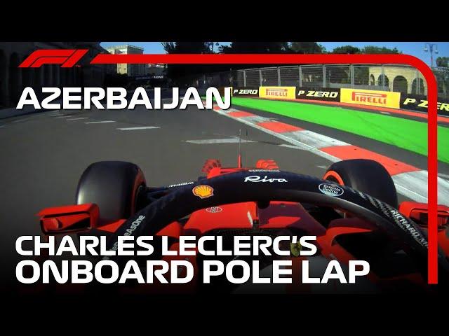 Charles Leclerc's Pole Lap   2021 Azerbaijan Grand Prix   Pirelli