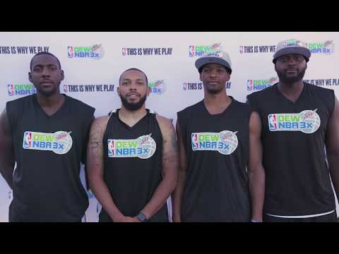 Dew NBA 3X Washington DC: Men's My Journey