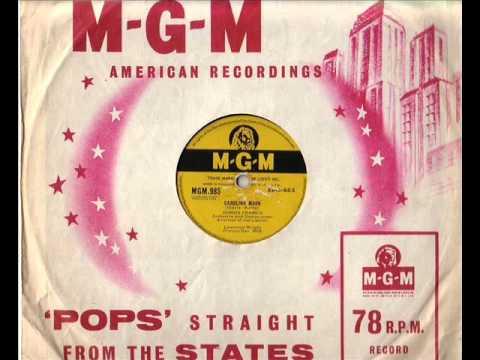 CONNIE FRANCIS. CAROLINA MOON. 78 RPM.