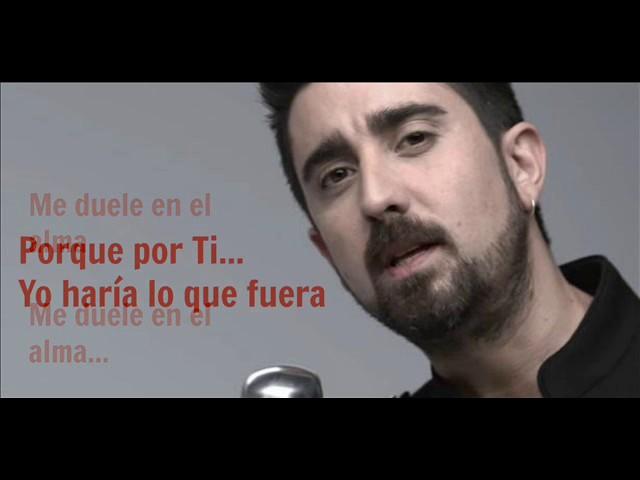 ANTES DE QUE TE VAYAS - Alex Ubago