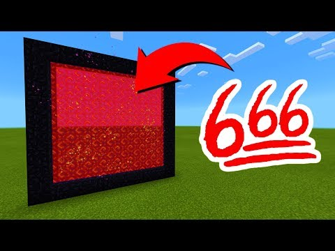 How To Make A Portal To The 666 Dimension In Minecraft!