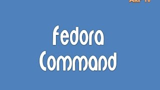 Terminal Commands in Fedora