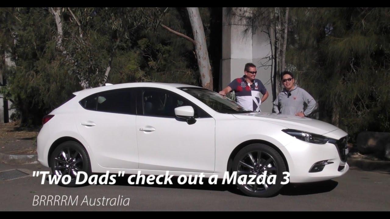 2016 my17 mazda 3 hatchback two dads review brrrrm australia youtube. Black Bedroom Furniture Sets. Home Design Ideas