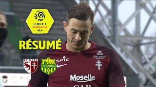 FC Metz - FC Nantes ( 1-1 ) - Résumé - (FCM - FCN) / 2017-18