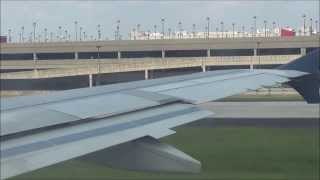 Delta Airlines In-Flight Airbus A319 Takeoff at Hartsfield Jackson Atlanta International Airport