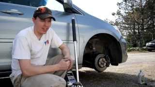 How to - Change the brakes on a Honda Odyssey