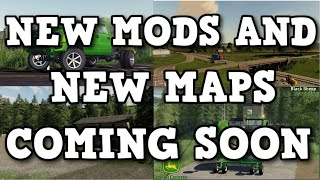 NEW MODS AND MAPS COMING SOON TO ALL PLATFORMS (PS4, XBOX, AND PC) | Farming Simulator 19