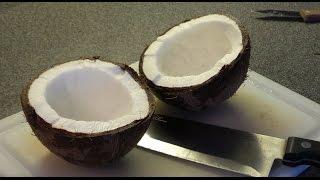 Ako Otvoriť Kokos