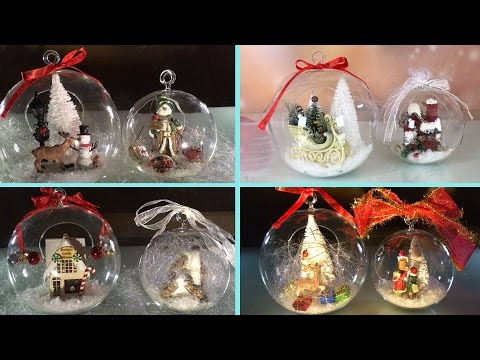 DIY: Clear Glass Ornaments for Christmas and New Year ➻ 4Anastasia
