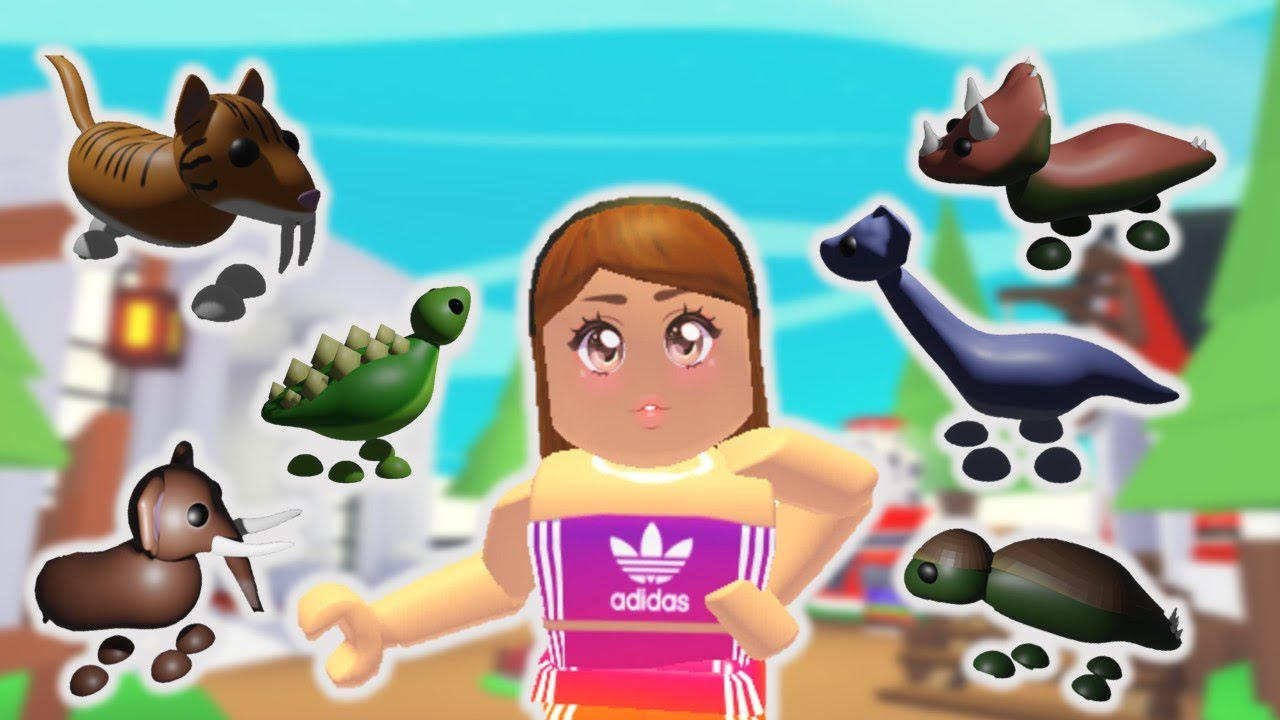 Every Dinosaur Pet Coming To Adopt Me Roblox Youtube