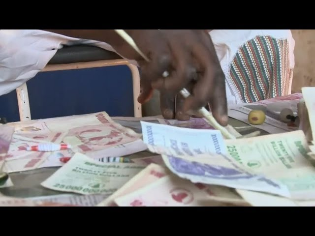 ZIMBABWE'S DOLLARS AS FASHION ITEMS - BBC NEWS