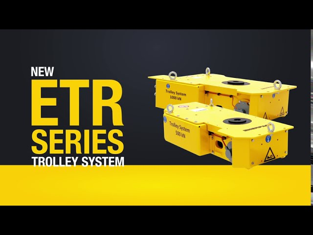 ETR-Series: Electric Trolley System | Enerpac