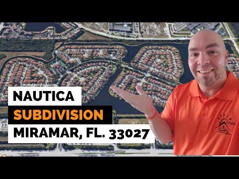 Nautica Subdivision Tour In Miramar FL 33027
