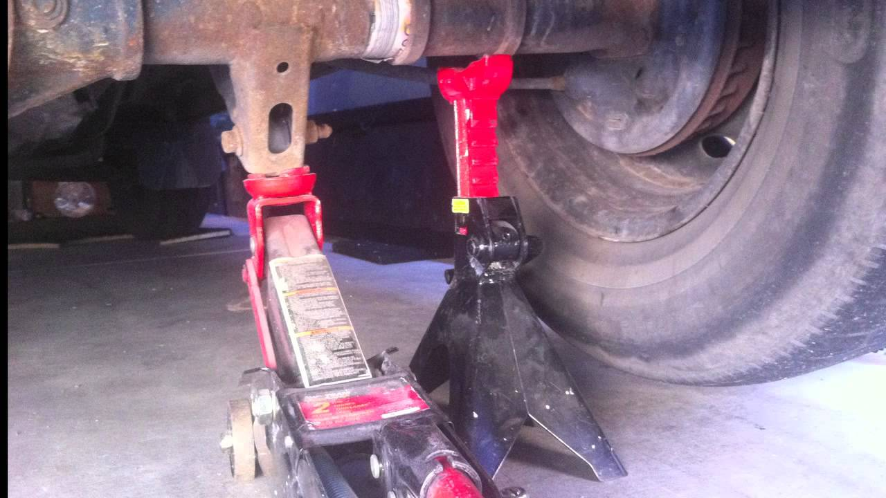 Where to place the jack on a small truck Mazda B2500 Ford ...