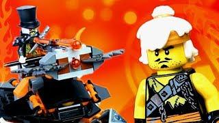 LEGO Ninjago 70654 Стремительный Странник Обзор