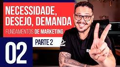 Necessidade, Desejo e Demanda - Marketing Digital #02
